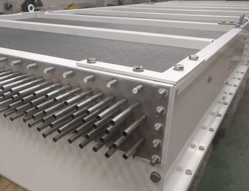 Air Blast Cooler (Extended Surface Heat Exchanger) Manufacture Project