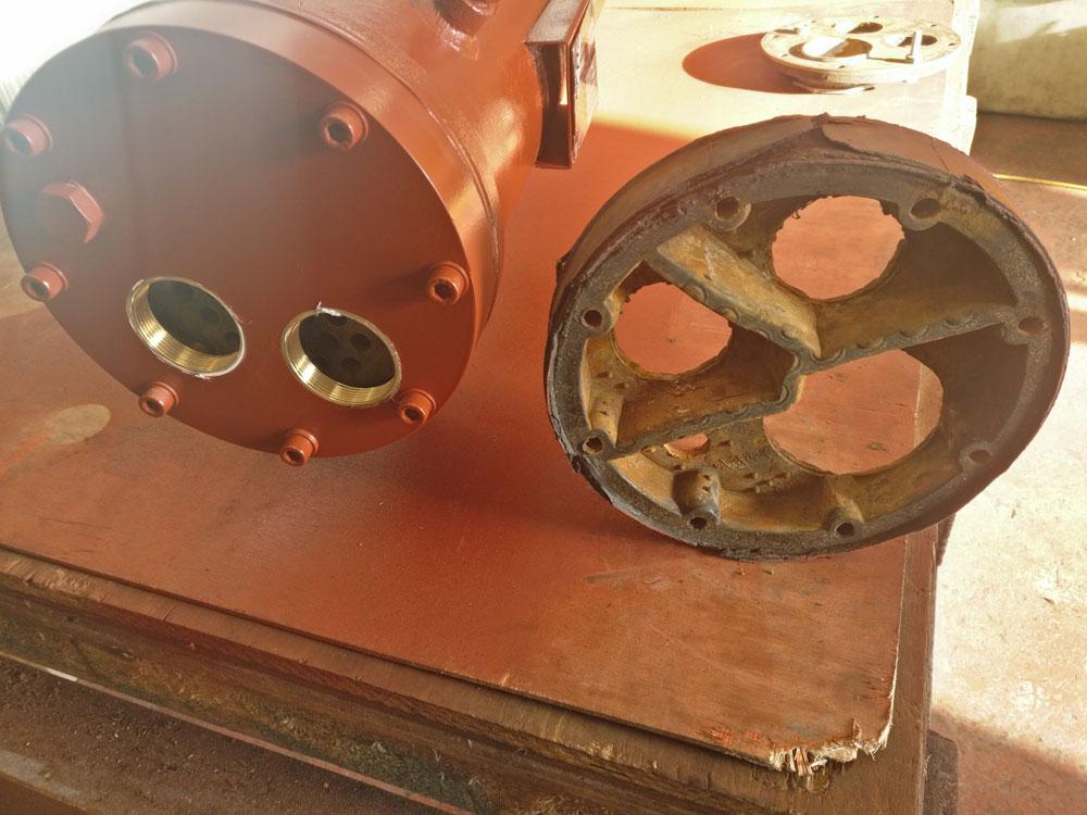 Refrigerant Condenser for North Sea Oil Rig